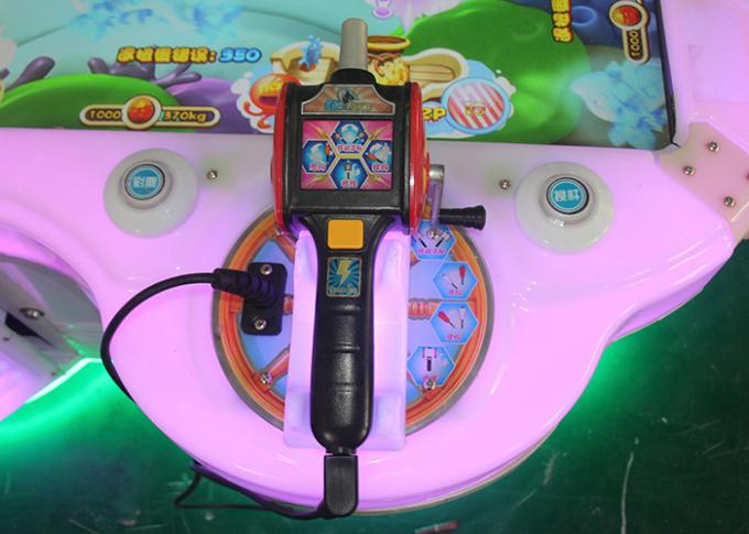 LED Lighting Ticket Out Fish Hunter Game Machine For Arcade Center , Fishing Slot Machine