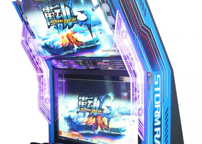 Real Feeling Great Fun Indoor Electric Racing Simulator Arcade Machine Stable Performance