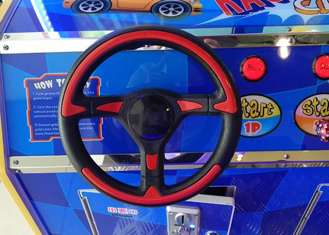 Indoor Electronic Car Racing Arcade Game Machines / Arcade Driving Simulator