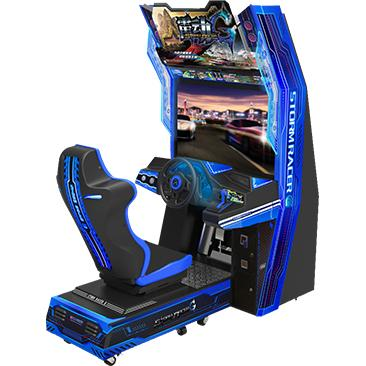 Car Race Force Feedback Steering Racing Simulator Game Machine With 14 Cars Unlocked