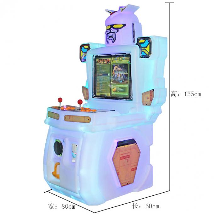 "Commercial Kids Street Fighting Game Machine All In One Arcade Machine 19"" Screen"
