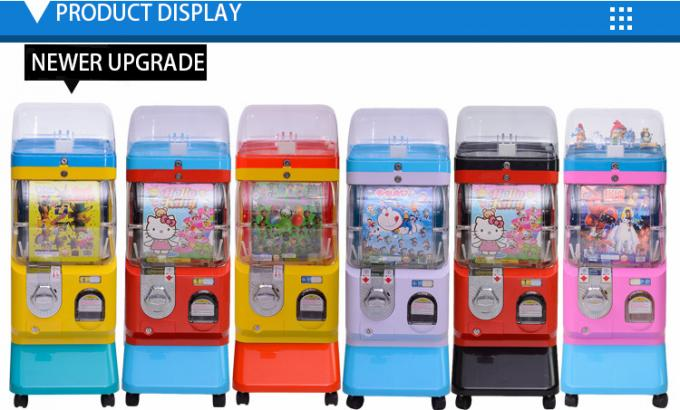 Coin Operated Capsule Vending Machine Candy Gumball Vending Machine