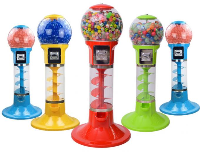 Gashapon Toy Arcade Prize Machines / Prize Ball Machine Metal Material