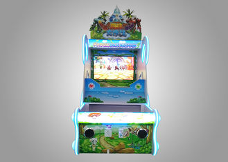 China Interactive Ball Shooting Arcade Games Machines With High Resolution Screen supplier