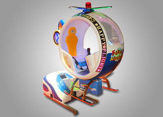 China Airplane Ride Kiddie Helicopter Rides For Kids Coin Operated High Return Cycle supplier