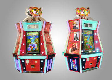 China Ticket Out Redemption Game Machine / Coin Pusher Game Machine supplier
