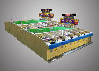China Horse Racing Game Machine Head To Head Competitions For Family Entertainment supplier