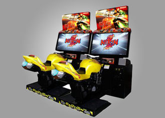 China Real Feeling Motor Simulator Game Machine / Driving Arcade Machines supplier
