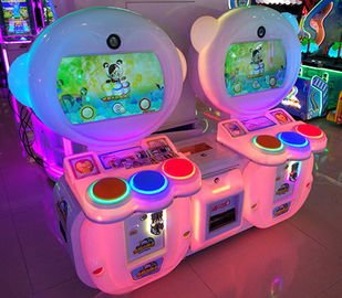 High Resolution Screen Arcade Games Machines With Photo Out For Playground