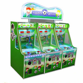 China Factory Supplier Happy Soccer Game Kids Coin Operated Game Machine 3P Football Shooting Prize Machine supplier