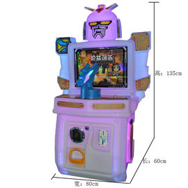 China 110V / 220V Kids Arcade Machine Rotational Moulding Plastic Material For Supermarket factory
