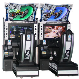 Initial D8 Electronic Driving Simulator Arcade Machine For Shopping Center
