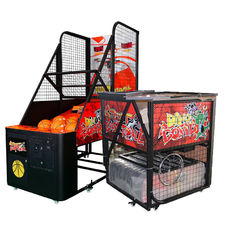 China Folding Arcade Basketball Game Machine / Street Basketball Machine factory