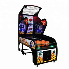 China Luxury Basketball Arcade Machine Coin Operated  Metal Material For Amusement Park factory