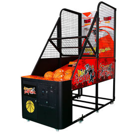 China Sports Basketball Shooting Game Machine 2 Player Basketball Arcade Game Machine factory