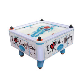 Four Person Mini Air Hockey Machine / Coin Operated Air Hockey Table