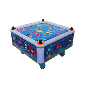 China Four Person Mini Air Hockey Machine / Coin Operated Air Hockey Table factory