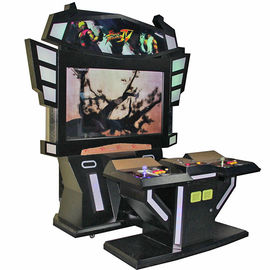 China Street Fighter Stand Up Arcade Game Machine 200W One Year Warranty factory