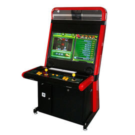 Coin Operated Fighting Game Machine / Amusement Arcade Machines 2 Players