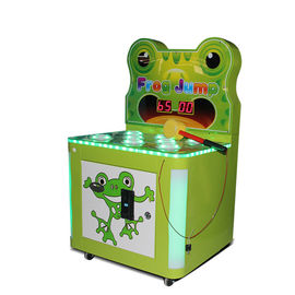 China Commercial Frog Hammer Kids Arcade Machine 80W 12 Months Warranty factory