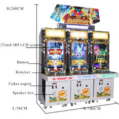 China Stable Performance Coin Pusher Arcade Machine Simulator Lottery Game Machine factory
