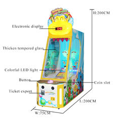 China Indoor Arcade Redemption Game Machine Lottery Ball Game Machine factory