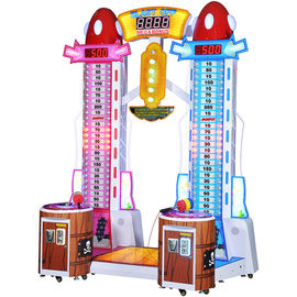 Coin Pusher Ticket Redemption Machine Metal Material Lifetime Maintence