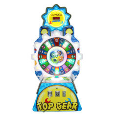 Lucky Gear Arcade Redemption Game Machine  Coin Pusher Lottery Game Machine