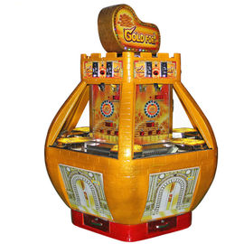 Gold Fort Casino Redemption Game Machine Coin Operated For Game Center