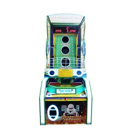 China Ball Shooting Arcade Games Machines Rugby Game Ticket Redemption factory