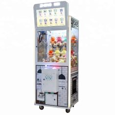 China Wood Material 150W Claw Crane Machine With LCD Screen For Advertisement factory