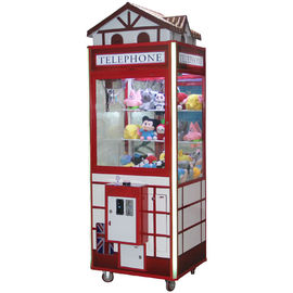 China Stable Plush Toy Claw Crane Machine Coin Operated  One Year Warranty factory