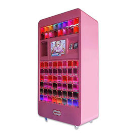 China Pink Commercial Arcade Cosmetic Vending Machine For Shopping Center factory