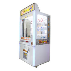 China Coin Pusher Prize Claw Crane Machine / Key Master Game Machine 100W factory