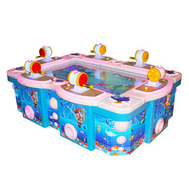 China Colorful Park Fishing Arcade Machines Coin Operated Customized Size factory
