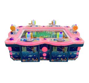 Amusement Adult Children Arcade Fishing Game Machine 300W 1 Year Warranty