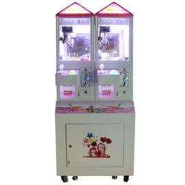 China 2 Players Coin Operated Crane Machines / 100W Crazy Claw Machine factory