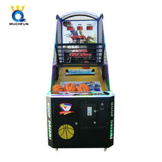 China Indoor Coin Operated Basketball Arcade Machine Fast To Install For Game Center factory