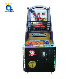 Indoor Coin Operated Basketball Arcade Machine Fast To Install For Game Center