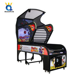 China 300W Deluxe Basketball Arcade Machine Two Mode Competitive And Single factory