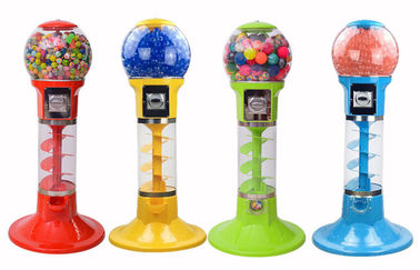 China good quality ABS Or PC Material Arcade Games Machines / Mini Spiral Gumball Machine on sales