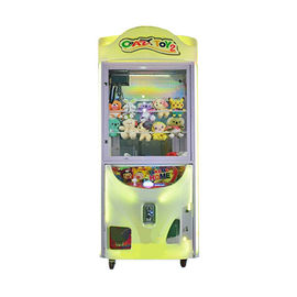 One Player Toy Claw Crane Machine With Eye - Catching Lighting Stable Game Board