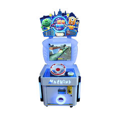 China Entertainment Kids Arcade Machine 62*60*150cm / Children Racing Game factory