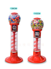 China ABS Material Arcade Games Machines / Mini Spiral Gumball Machine factory