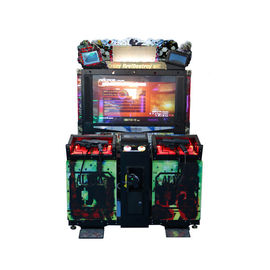 Coin Operated Arcade Shooting Game Machine With LED Lighting / Surround Sound