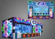 Promotional Fish Hunter Game Machine Huge Screen Shock Sound Entertainment With Reliability