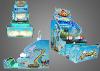 Visual 3D Screen Water Shooting Arcade Video Game Machines For English Version / Edition