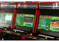 Coin Operated Fighting Game Machine / Amusement Arcade Machines 2 Players supplier