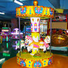 3 Seats Carousel Coin Operated Kiddie Ride / Carousel Horse Ride On Toy supplier