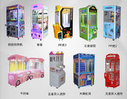Metal Or Wood Material Claw Crane Machine  / Commercial Stuffed Toy Vending Machine supplier